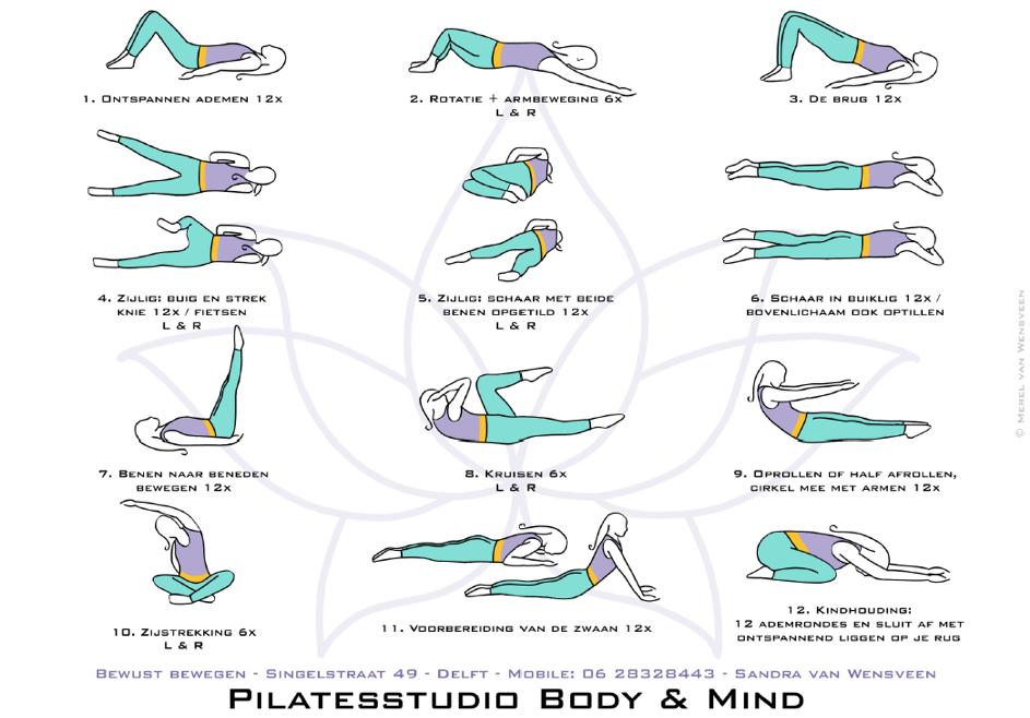 Houd je lichaam sterk en flexibel